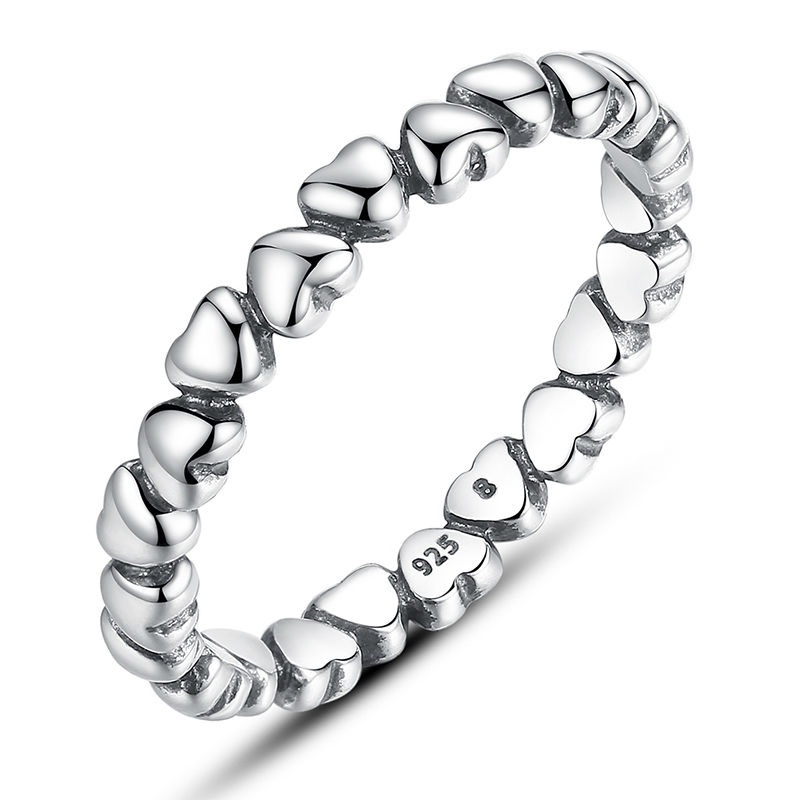 BAMOER-Authentic-925-100-Solid-Sterling-Silver-Forever-Love-Heart-Finger-Ring-Original-Anniversary-Jewelry-PA7108 (1)