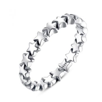 Solid Sterling Silver Heart Finger Ring